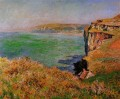 The Cliff at Varengeville Claude Monet