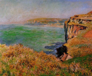The Cliff at Varengeville Claude Monet Oil Paintings