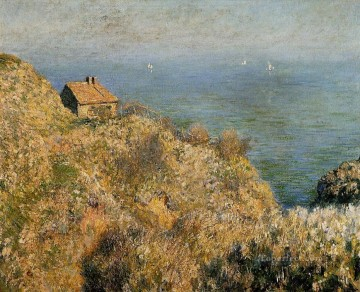 The Fisherman s House at Varengeville Claude Monet Oil Paintings