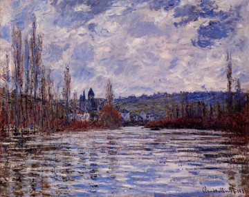 monet banks of the seine Painting - The Flood of the Seine at Vetheuil Claude Monet