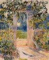 The Garden Gate Claude Monet