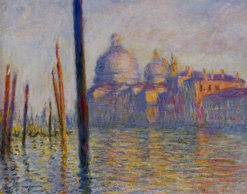 Monet Oil Painting - The Grand Canal III Claude Monet