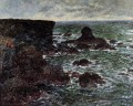 The Lion Rock BelleIleenMer Claude Monet