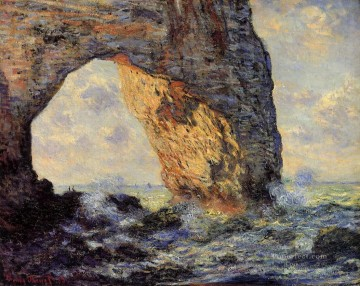 Etretat Art - The Manneport Etretat Claude Monet