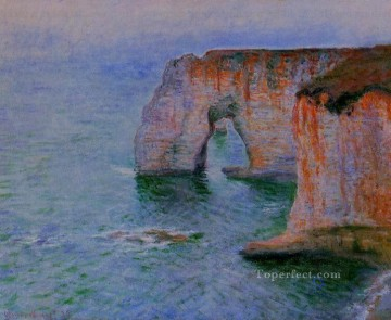 The Manneport Seen from the East Claude Monet Oil Paintings