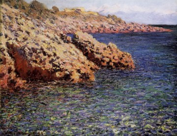 aka Works - The Mediterranean aka Cam d Antibes Claude Monet