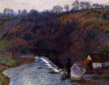 Monet Oil Painting - The Mill at Vervy Claude Monet