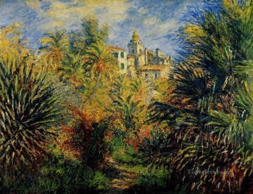 garden Oil Painting - The Moreno Garden at Bordighera II Claude Monet