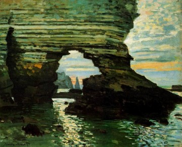 The Porte d Amont Etretat Claude Monet Oil Paintings