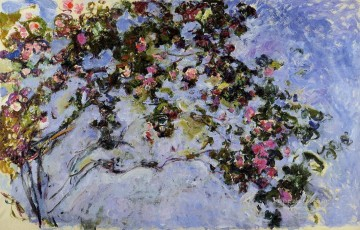 Rose Art - The Rose Bush Claude Monet