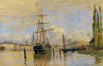 The Seine at Rouen Claude Monet Oil Paintings