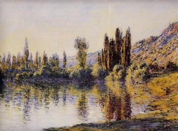 mornings on the seine monet Painting - The Seine at Vetheuil Claude Monet
