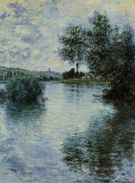Seine Works - The Seine at Vetheuil II 1879 Claude Monet