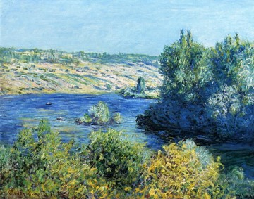 mornings on the seine monet Painting - The Seine at Vetheuil II Claude Monet