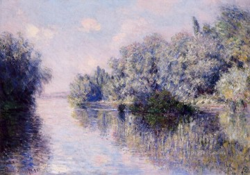 The Seine near Giverny Claude Monet Oil Paintings