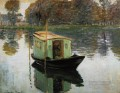 The Studio Boat 1874 Claude Monet