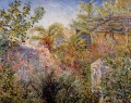 The Valley of Sasso Bordighera Claude Monet