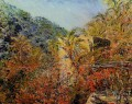 The Valley of Sasso Sunshine Claude Monet