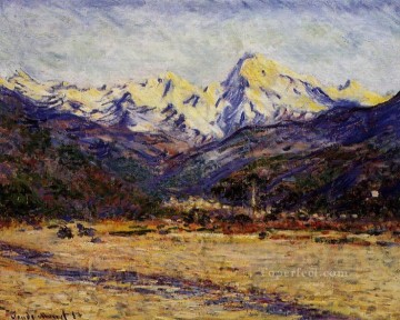 The Valley of the Nervia Claude Monet Oil Paintings