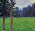 Two Trees in a Meadow Claude Monet