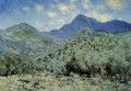 Valle Bouna near Bordighera Claude Monet