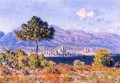 View of Antibes from the Plateau Claude Monet