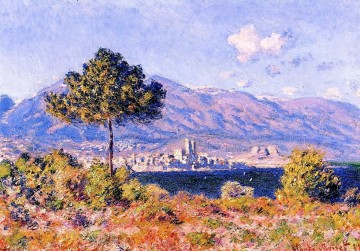 View of Antibes from the Plateau Claude Monet Oil Paintings