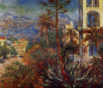 Claude Monet Painting - Villas at Bordighera Claude Monet