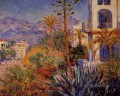 Villas in Bordighera Claude Monet