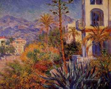 Villas in Bordighera 莫奈油画、国画