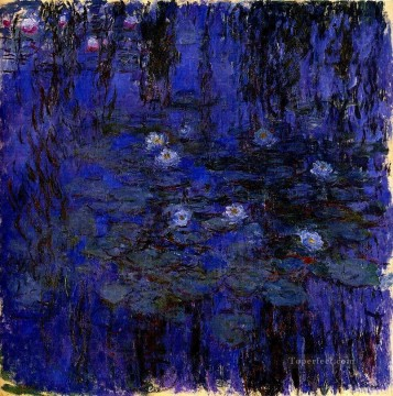 Water Lilies 1916 1919 Claude Monet Oil Paintings