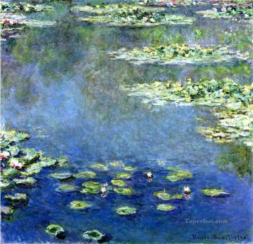 Water Lilies 2 Claude Monet Oil Paintings