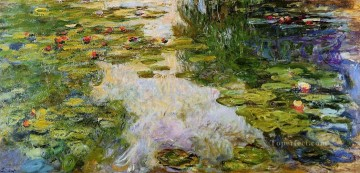 Water Works - Water Lilies X Claude Monet