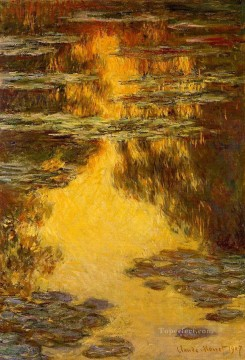 Water Works - Water Lilies XI Claude Monet