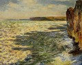 Waves and Rocks at Pourville Claude Monet
