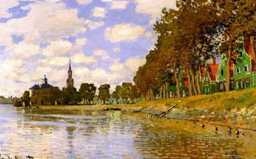Zaandam Claude Monet Oil Paintings