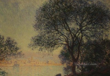 Claude Art - Antibes Seen from the Salis Gardens Claude Monet