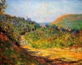 At Les PetitDalles Claude Monet