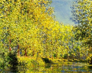 Bend in the River Epte Claude Monet Oil Paintings