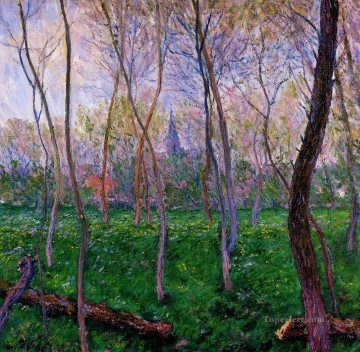 Bennecourt 1887 Claude Monet Oil Paintings