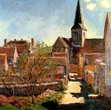 Bennecourt Claude Monet Oil Paintings