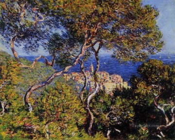 Monet Oil Painting - Bordighera Claude Monet
