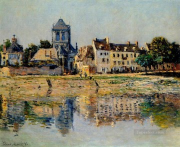by Works - By the River at Vernon Claude Monet