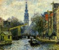 Canal in Amsterdam Claude Monet