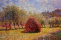 Haystacks at Giverny 1895 莫奈