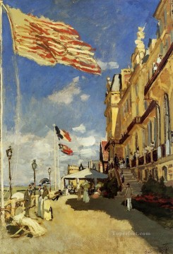 Hotel des Roches Noires Trouville Claude Monet Oil Paintings