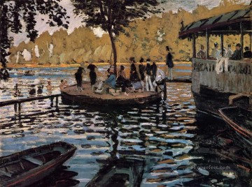 Monet Oil Painting - La Grenouillere Claude Monet