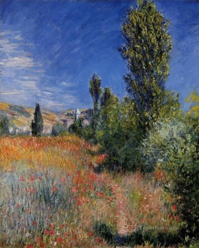 Landscape on the Ile SaintMartin Claude Monet Oil Paintings