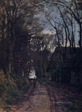 Lane in Normandy Claude Monet Oil Paintings
