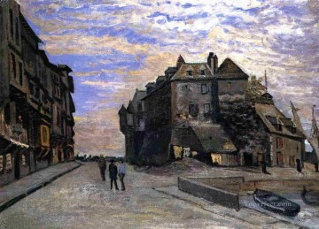 Le Lieutanance at Honfleur Claude Monet Oil Paintings
